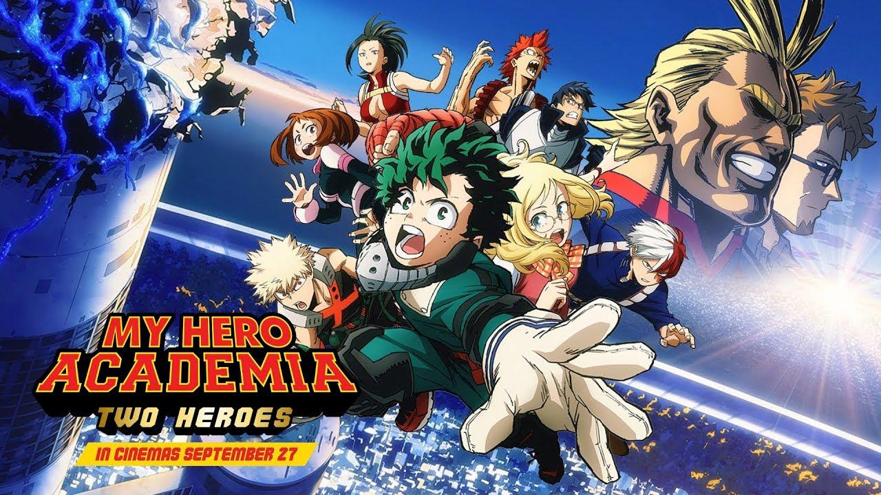 My Hero Academia Two Heroes Movie